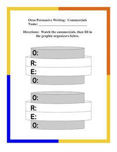 awesome persuasive writing activity