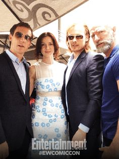 Entertainment Weekly Live from Comic-Con!  #EWComicCon #SDCC with Tobias Menzies, Caitriona Balfe, Sam Heughan and Graham McTavish