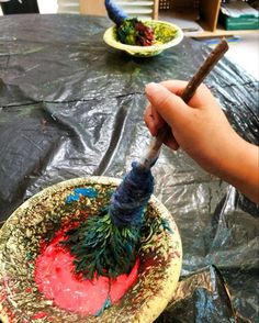 """Nature brushes at Society of Richmond Children's Centres ("""",)"""