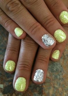 Like this but with pink sparkles