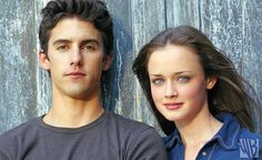 Milo Ventimiglia as Jess and Alexis Bledel as Rory - Milo Ventimiglia, Alexis Bledel