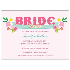 Bridal Swag Bridal Shower Invitations | PaperStyle  Use for discount coupon