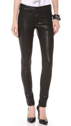 vegan leather jeans