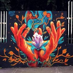 by Areúz - New mural Florence - Mexico City, Mexico - Aug 2014