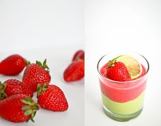 #doterraleadership Strawberry Lime Parfait...using avocado, lime, strawberries and doTERRA's  lime essential oil