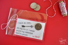 Valentine coin printable- 15 Valentine's Day Free Printables - ParentMap