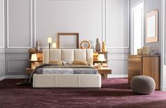 Premium new Gautier bedroom. Collection made in France by Gautier. All details and products : www.gautier.co.uk... Collection Premium | Gautier #furniture #bedroom #premium