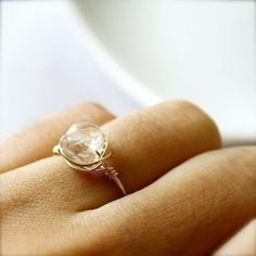 This ring would be easy to DIY