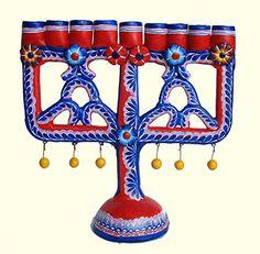 Mexican menorah candelabra