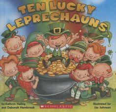 Ten Lucky Leprechauns by Kathryn Heling. ER HELING.