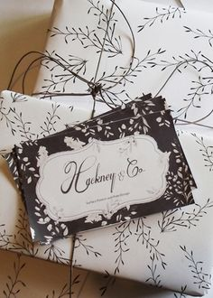 Hackney  Co Stationery Tags  surface pattern design, prints