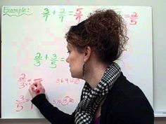 Adding and Subtracting Fractions-Christine Munafo's Flipped Classroom-4th grade STEM - YouTube