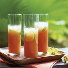 Guava-Lime Coolers | MyRecipes.com