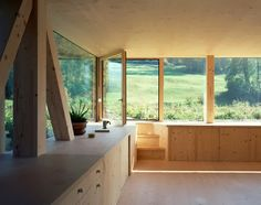 cabin, balsthal, house interiors, back porches, wood architecture, kitchen ideas, wood grain, wood houses, pascal flammer