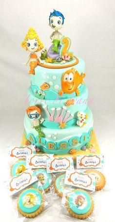 BUBBLE GUPPIES - by tortediivana @ CakesDecor.com - cake decorating website