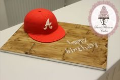 New Era Cap Cake Tutorial - by Sweet Blossom Cakes @ CakesDecor.com - cake decorating website