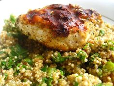 Chicken & Quinoa Dinner THM (E)
