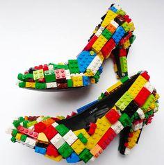 Lego heels.