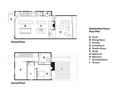 Darkshadow House Floor PlanA PorchB Dining RoomC KitchenD Living RoomE Powder RoomF StudyG BathroomH BedroomI Dressing RoomJ Terrace