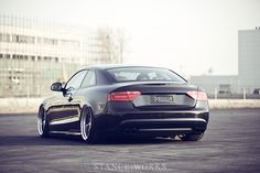 Audi S5 - Modified. The stance is quite reminiscent of typical concept cars.