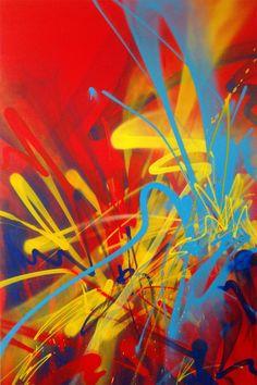 "Saatchi Online Artist: Alex Kuznetsov; Aerosol Paint, 2012, Painting ""052012"""