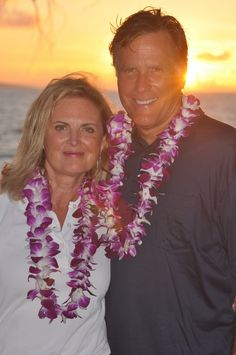 Mitt and Ann on vacation.