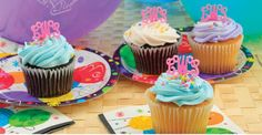 $39.99 Acrylic Monogram Cupcake Toppers
