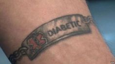 diabetic tattoo ink - Google Search