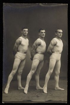 Acrobats – photo from The New York Public Library for the Performing Arts / Billy Rose Theatre Division (Source : http://digitalgallery.nypl.org/nypldigital/dgkeysearchdetail.cfm?trg=1=146597=57334=56=0=Acrobats=3====2=0=======20=9=w) #circus #acrobats