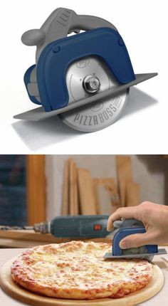 ► Circular Saw Pizza Cutter