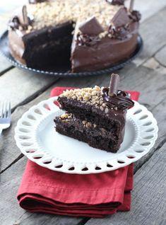Mocha Toffee Crunch Cake