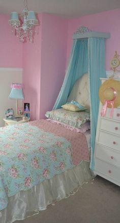 #Princess room #Project Nursery  #girls room