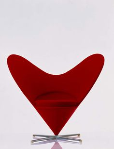 Heart Cone Chair by Verner Panton (1959) - Vitra