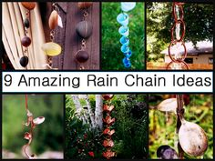 9 Amazing Rain Chain Ideas