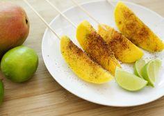 mango on a stick