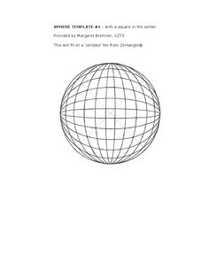 Two sphere templates sphere templat