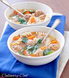 Spicy Italian Sausage Soup   Culinary Cool Blog