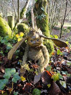 A little woodsprite? By fantasy artist Wendy Froud.