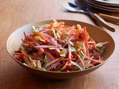 Waldorf Slaw with Bacon Recipe : Food Network Kitchens : Food Network - FoodNetwork.com