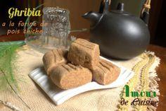 ghribia a la farine de pois chiche / gateau sec et fondant - Amour de cuisine