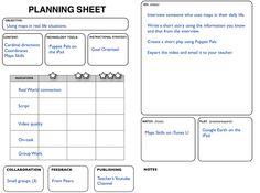 SAMR Planning Sheet (sample): http://www.alline.org/images/techint3.jpg