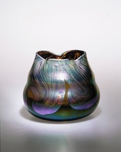 Bowl  Designed by Louis Comfort Tiffany 1893