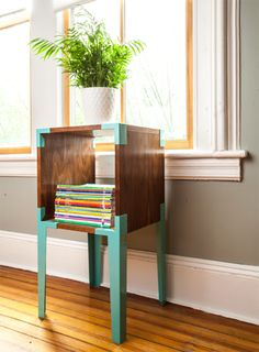 add new life to old furniture by repainting it with color