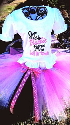 Barbie Tutu by AdalynsBoutique on Etsy, $59.99