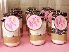 cookies in a jar party favor!