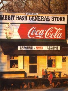 Rabbit Hash General Store,  Boone County, Kentucky    Photography by James Archambeault
