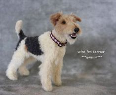 Wire-haired Fox Terrier by yayaya...love the open mouth detail