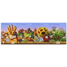 Need these Farmer's Market Stamps!