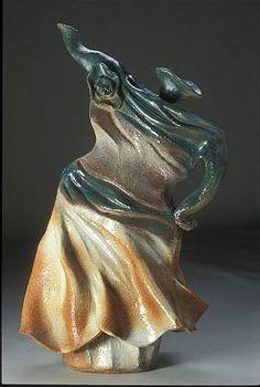 Lady dancing teapot