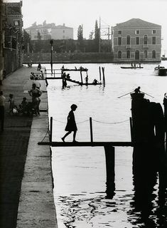 willy ronis, 1959, art, white, venice